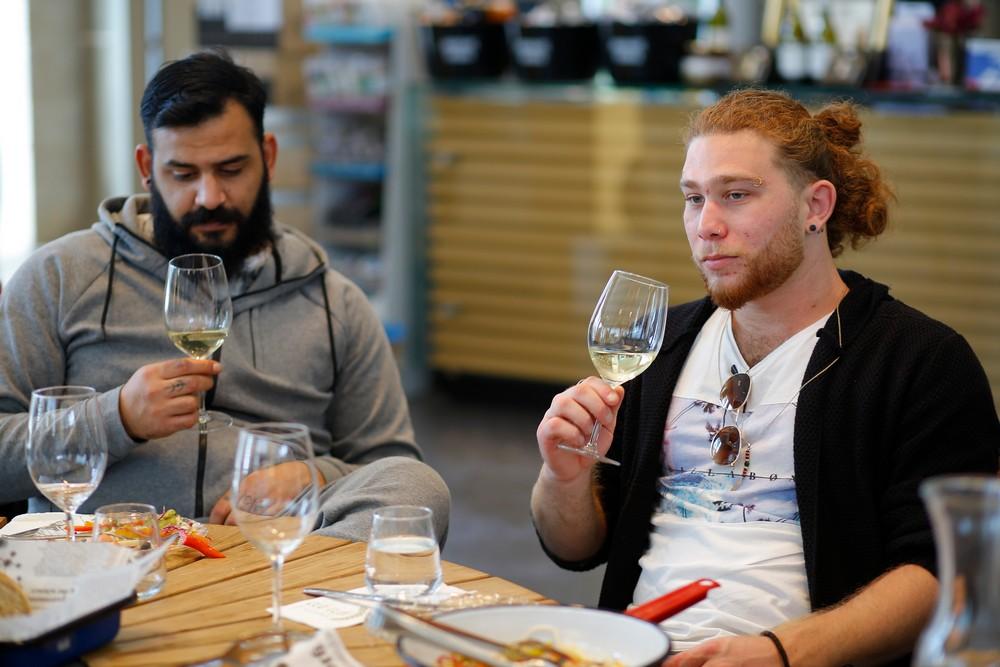 סדנאות יין זוגית - בר מאסטר